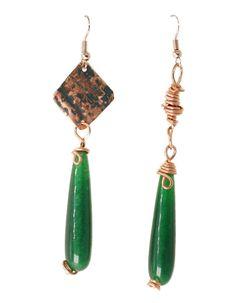 Ethnic Chic, Boho Chic, Drop Earrings, Ethnic Jewelry, Shibori, Hippy, Handmade, Gifts, Ebay