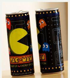 """#FOTOS #HUMOR #CHISTES #DIVERTIDAS #GEEK #FRIKI Bebida Energizante """"Pac-Man"""" para Geeks"""