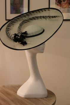 Vivienne Morgan Millinery - The Olivia Hat - elegance in simplicity.