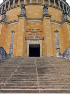 Befreiungshalle Kelheim - Treppenaufgang