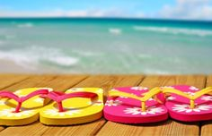 Flip flops! Summer facebook cover