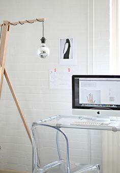 work/blog area