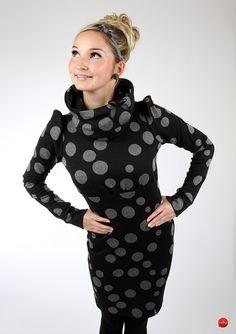 """Minikleider - MEKO Kleid Chevron """"EBBY_PG4"""" - ein Designerstück von meko bei DaWanda"""