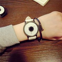 2017 New Unique Dial Design Lovers' Watches Creative Watch Women luxury brand Famous Ladies Wristwatches Quartz Clock Hodinky Cheap Watches, Casual Watches, Cool Watches, Watches For Men, Women's Watches, Watches Online, Wrist Watches, Unique Watches, Luxury Watches
