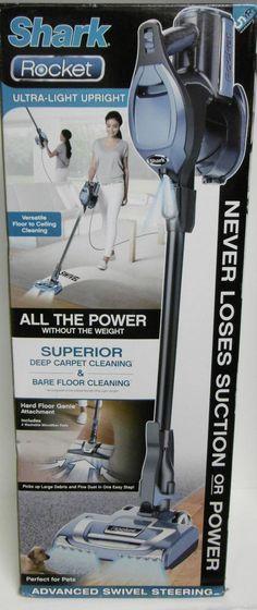 shark rocket ultralight upright vacuum never loses suction or power deep cleans shark - Shark Rocket Ultra Light