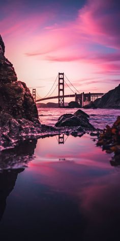 Color by: Chosen by: Location: San Francisco, California City Photography, Landscape Photography, Nature Photography, Photography Ideas, Aesthetic Iphone Wallpaper, Aesthetic Wallpapers, Cute Wallpapers, Wallpaper Backgrounds, Pretty Pictures