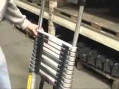 Telescopic ladder video.
