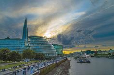 London sunset #ElizabethPadillaPhotography