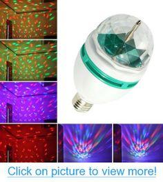 LEDSpring XL-14S Sound Control RGB Crystal Ball Effect Light E27 LED Rotating Stage Lighting For Disco DJ Party #LEDSpring #XL_14S #Sound #Control #RGB #Crystal #Ball #Effect #Light #E27 #LED #Rotating #Stage #Lighting #Disco #DJ #Party
