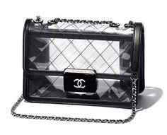 The Spring-Summer 2017 Handbags collection on the CHANEL official website Chanel Handbags, Fashion Handbags, Purses And Handbags, Fashion Bags, Chanel Bags, 2017 Handbags, Coco Chanel, Gucci, Fendi