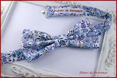 Noeud Papillon Tissu Liberty Wiltshire lilas - Homme / enfant / bebe