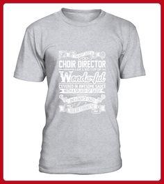 Choir Director Big Cup Wonderful Sauce Sassy Crazy TShirt - Spaß shirts (*Partner-Link)