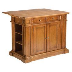 Home Styles Kitchen Island - Cottage Oak