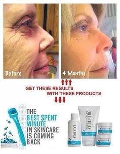Rewrite your skin's story - Rodan + Fields Redefine AMP MD System will change the way you age or there's a 60 day money back guarantee!