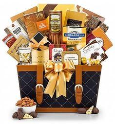 Golden Gourmet Gift Basket - http://www.fivedollarmarket.com/golden-gourmet-gift-basket/