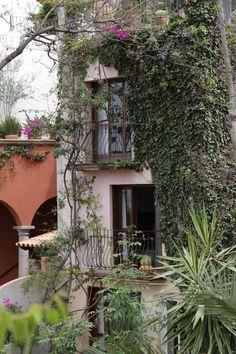 San miguel, San miguel de allende and Courtyards on Pinterest