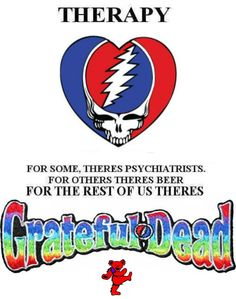 Grateful Dead Bears by Liquid Blue
