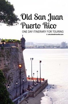 Old San Juan, Puerto Rico. Experience the best of the city on a one-day touring adventure. See the sights, taste the bites, and pick up a few souvenirs along the way.