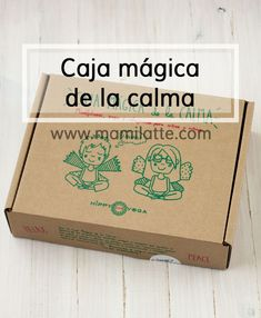 Mamilatte | La caja mágica de la calma. Favoreciendo el autocontrol. Kids Learning Activities, Learning Centers, Toddler Activities, Happy Mom, Happy Kids, Bussines Ideas, Mindfulness For Kids, Teaching Time, Mind Up