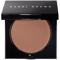Bobbi Brown Sheer Finish Pressed Powder, 0.38 oz (270 DKK) ❤ liked on Polyvore featuring beauty products, makeup, face makeup, face powder, warm chestnut, bobbi brown cosmetics and compact face powder