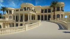 La Palais Royal, Florida-the most expensive home in the US, with a selling price of $159 million. #Luxury