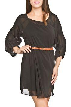 Black Dress with Belt – Laney Lu's Boutique www.laneylus.com