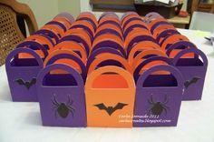 Easy peasy Halloween treat bags! Love my Cricut!