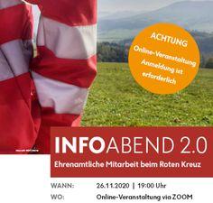 Rotes Kreuz: Ein starkes Team sucht Verstärkung - Online Infoabend 2.0 Red Cross, Addiction, Crosses