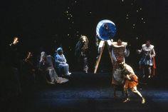 """""""El Sueño de una noche de verano"""", de Shakespeare. Teatro Español. 1987. Dirección: Miguel Narros"""