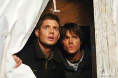Supernatural Faith (Episode #110) Image #SN110-0312 Pictured (l-r): Jensen Ackles as Dean Winchester, Jared Padalecki as Sam Winchester Credit: © The WB/Sergei Bachlakov