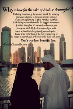 Love for the sake of Allah soubhana wa tala is the most beautiful one