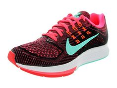 Nike Womens Air Zoom Structure 18 Hypr PnchHypr TrqBlkTtl Orn Running Shoe 11 Women US ** Be sure to check out this awesome product.