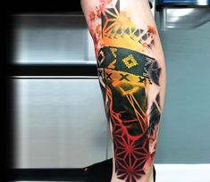 Native American indian girl tattoo by Rich Harris