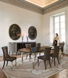 Layton by Longhi | Dining tables