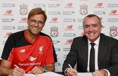 Jurgen Klopp - the new Mighty Reds Manager.  October 8 2015