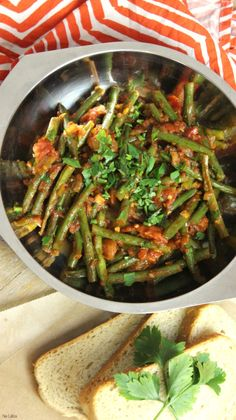 Indian Food Recipes, Green Beans, Nom Nom, Good Food, Food And Drink, Low Carb, Lunch, Diet, Vegetables