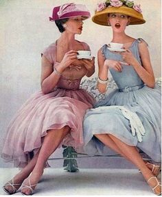 Love to gossip over tea? We do..... come see the TEA ROOM at Vintage Revivals