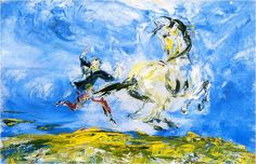 poboh: The Wild Ones, Jack Butler Yeats. Irish - - Oil on Canvas - Irish Painters, Jack B, Irish Art, Great Paintings, Wild Ones, Word Art, Art Blog, Great Artists, Oil On Canvas