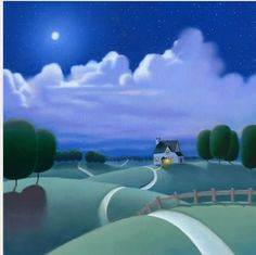 Under The Moonlight by Paul Corfield