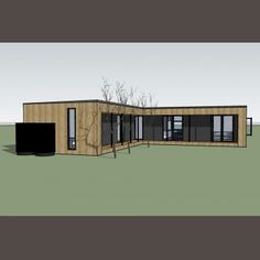 Matilda 1 Prefabricated Houses, Modular Design, Modular Homes, Kit Homes, Matilda, Sustainability, Beach House, House Design, Bungalows