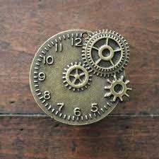 Art Supplies Expressive Lot 100g Antique Steampunk Gears Charms Pendant Clock Watch Wheel Gear Diy Craft