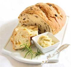 Add herbs to homemade bread for tasty, unusual recipes. I'd add rosemary instead of chives in the bicuits!