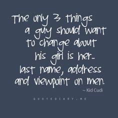 Words Spoken By The Man Kid Cudi