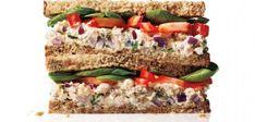 Zdravá svačina - 3 skvělé sendviče s vysokým obsahem bílkovin.