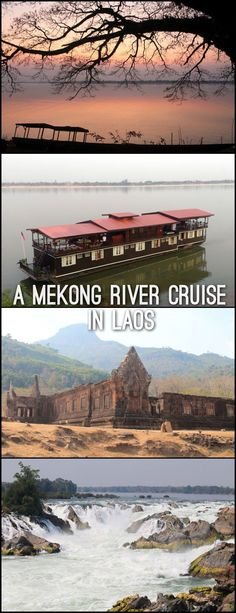 This Mekong River cruise in Southern Laos was full of stops to waterfalls, ancient ruins, tiny villages and emerald green islands -- if you're looking for a relaxing Southeast Asia adventure you've come to the right place!