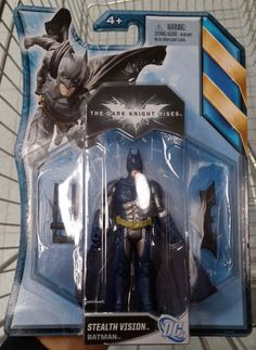 Batman, The Dark Knight Rises - Stealth Vision Action Figure (Home Bargains)