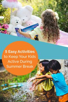 Your summer dilemmas are solved with this great list of easy activities for kids! See how NuBryte can help keep you organized all Summer long!