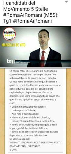 il popolo del blog,: i candidati del m5s a Roma, Roma ai Romani non ai ...