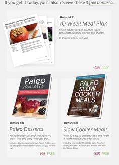 (63) Paleo Grubs Book | 470+ Paleo Recipes in 17 Categories | Food And Drink World | Pinterest