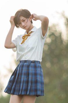 Cute Korean Girl, Cute Asian Girls, Cute Girls, Beautiful Japanese Girl, Beautiful Girl Photo, School Girl Japan, Japan Girl, Cute Cosplay, Cosplay Girls